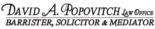 David A. Popovitch Law Office